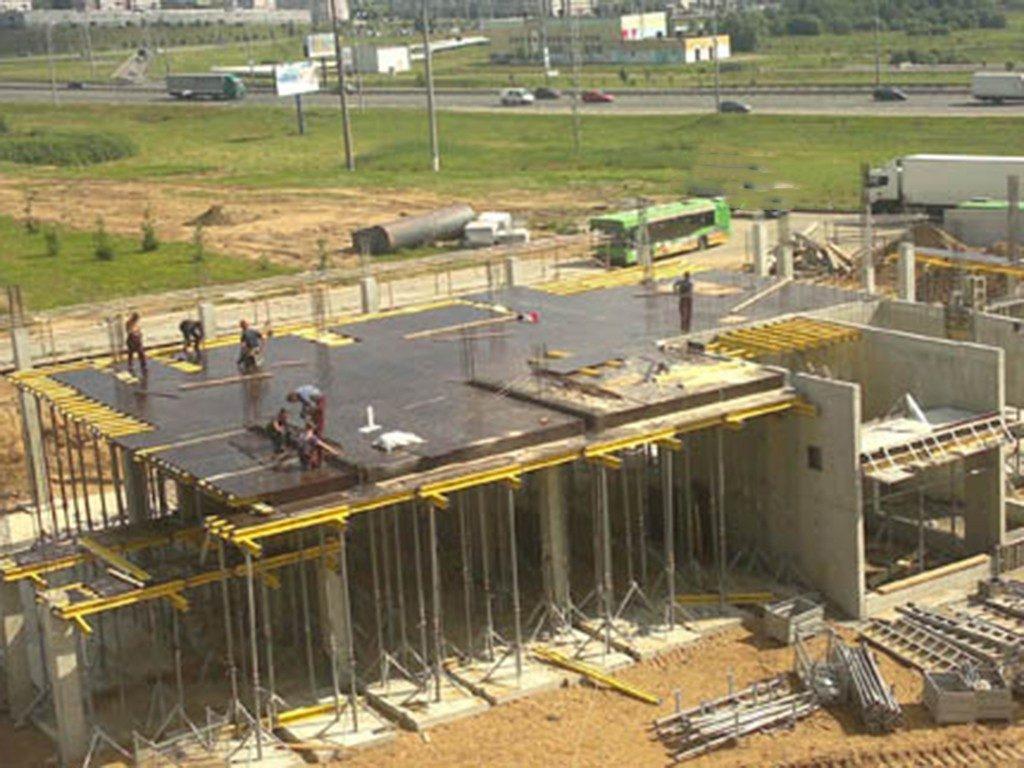 Individualių namų statyba Bauarbeiten haus individuelle hausekonstruktion