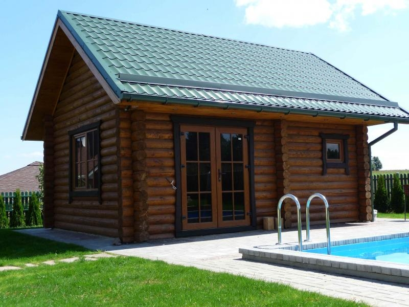 Бревенчатый дом Sauna M66