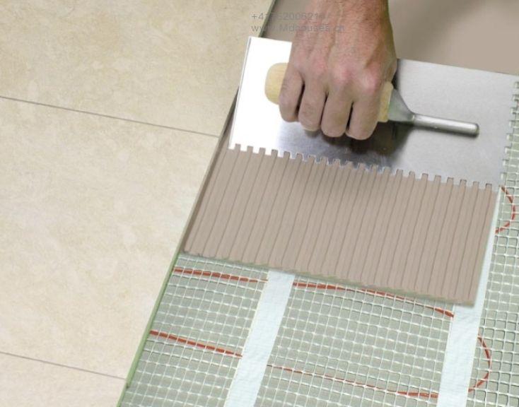 Laying tiles, repair, finishing works