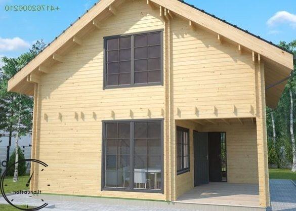 logsauna for sale summer house individuelle Hus Konstruktion (1)