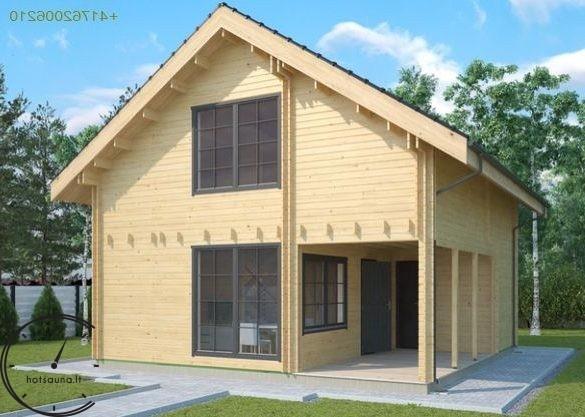 logsauna for sale summer house individuelle Hus Konstruktion (6)