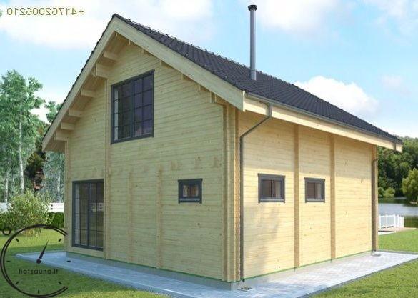 logsauna for sale summer house individuelle Hus Konstruktion (7)