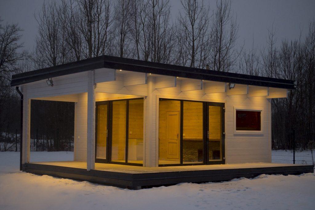 Sauna, Bäder und Ferienhäuser, Büros