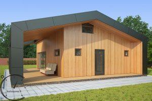 sauna hugge mini pirtis sauna lauko hotsauna (4)