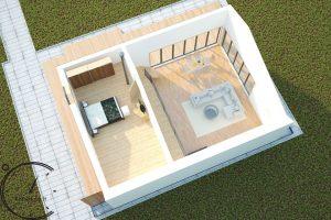 sauna hugge mini pirtis sauna lauko hotsauna (8)