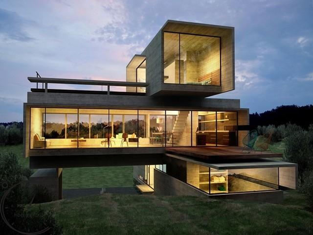 Жилой дом SISIKON 470 m2 - 640 m2