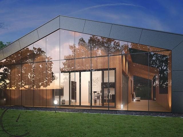 Жилой дом HYGGE 80 m2 - 432 m2