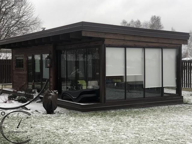 Sauna Modern   4m CLOSED