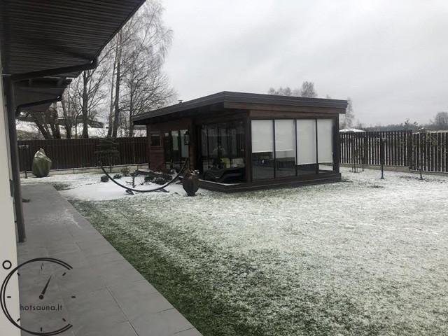 sauna modern papildoma istiklinta terasa 4 metru sauna for sale (3)