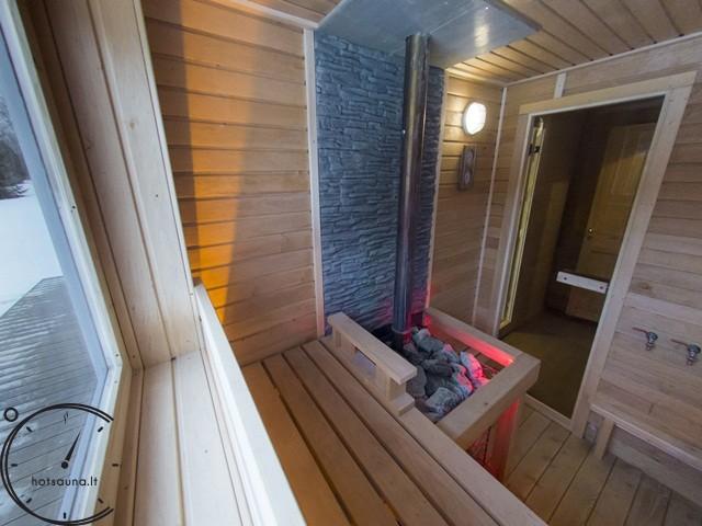sauna modern papildoma istiklinta terasa 4 metru sauna for sale (8)