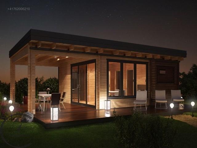 Баня Sauna Modern